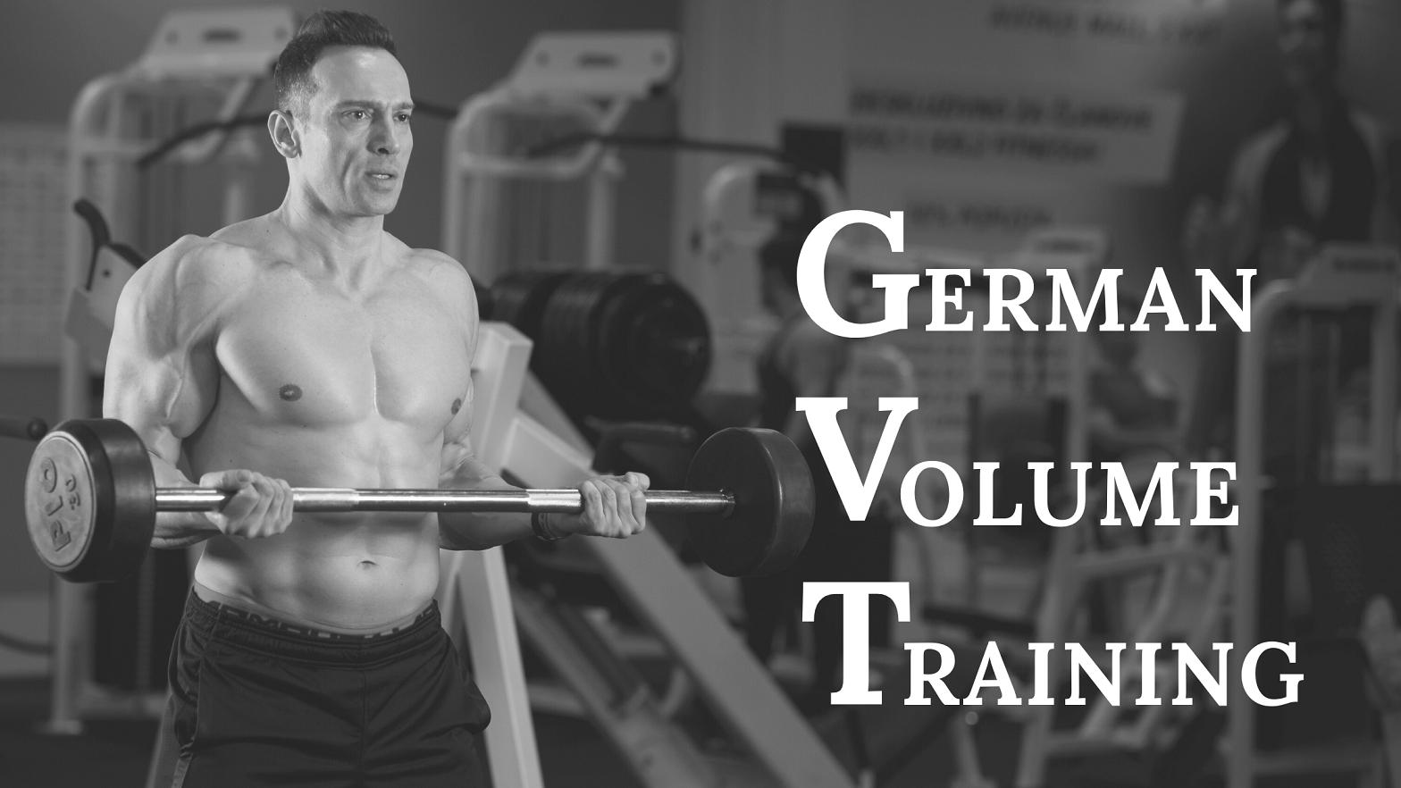 GERMAN VOLUME TRAINING – Njemački trening za rast! 2. dio