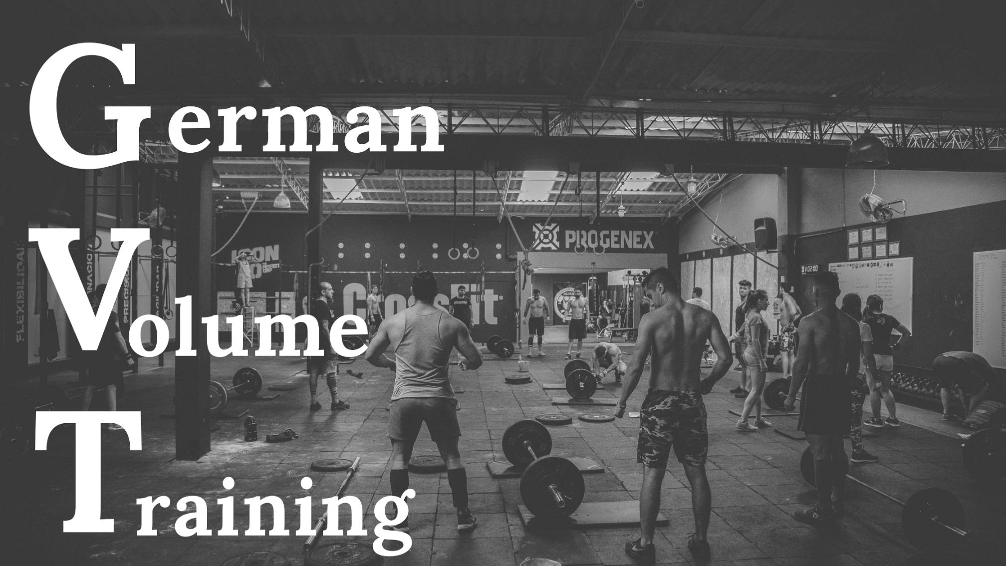 GERMAN VOLUME TRAINING – Njemački trening za rast! 1. dio